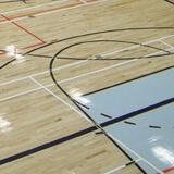 Plancher de gymnase pour les activités sportives - Action bois franc