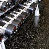 Plancher Deko en caoutchouc pour les gyms et centres de conditionnement physique