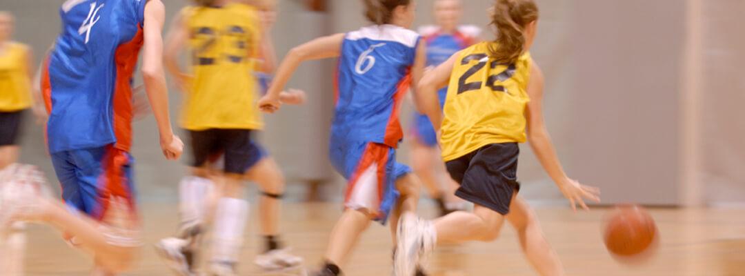 Gymnase plancher sportif