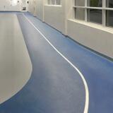 Omnisports 6.5 synthetic running track flooring