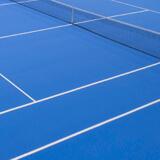 Surface Uni-Turf spécialisée pour les terrains de tennis