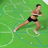 Marquage d'entraînement pour des exercices de conditionnement physique fonctionnel