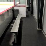 Plancher résistant en caoutchouc X-Mat pour les arénas
