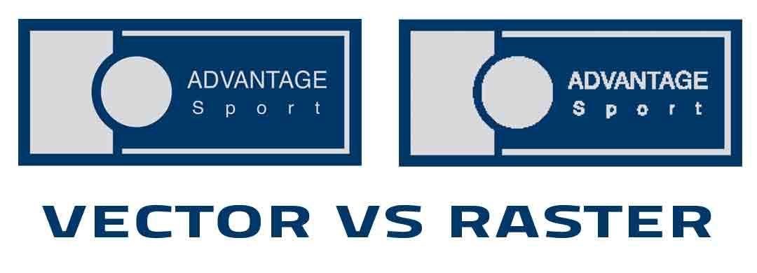 Vector vs Raster logo files